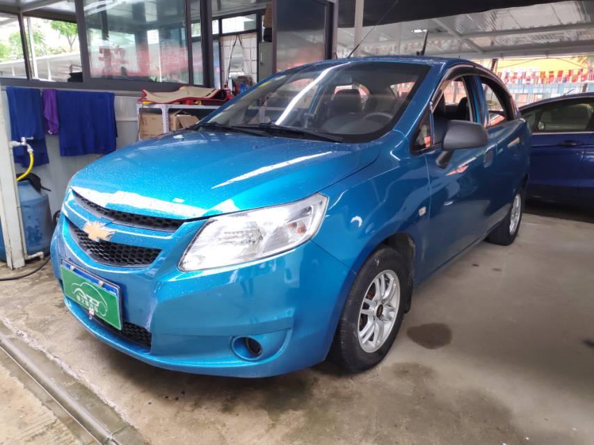 雪佛兰赛欧2013款赛欧三厢1.2L 手动SX 幸福版 武汉爱之家长丰二手车市场高清图片