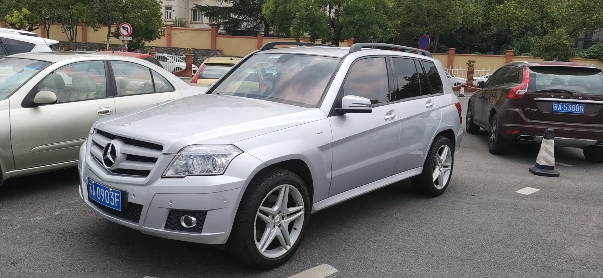 奔驰奔驰GLK级2012款 奔驰GLK级 GLK300 4MATIC 动感型